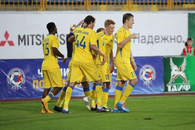 Игроки «Ростова» получат 1 млн долларов премиальных запобеду вчемпионате