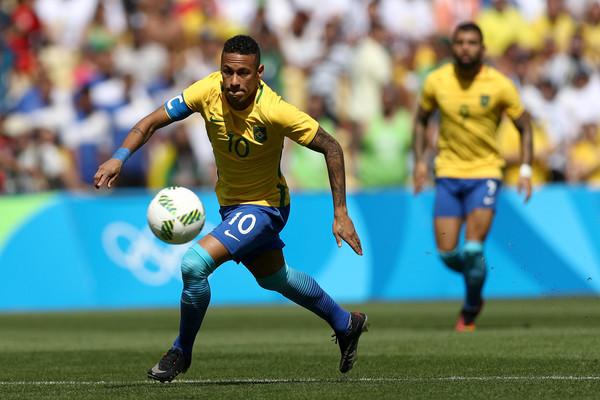 Сборная Бразилии- первый финалист Олимпиады в Рио-де-Жанейро