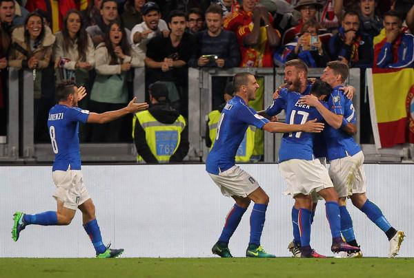Италия иИспания сыграли вничью вотборочном матчеЧМ