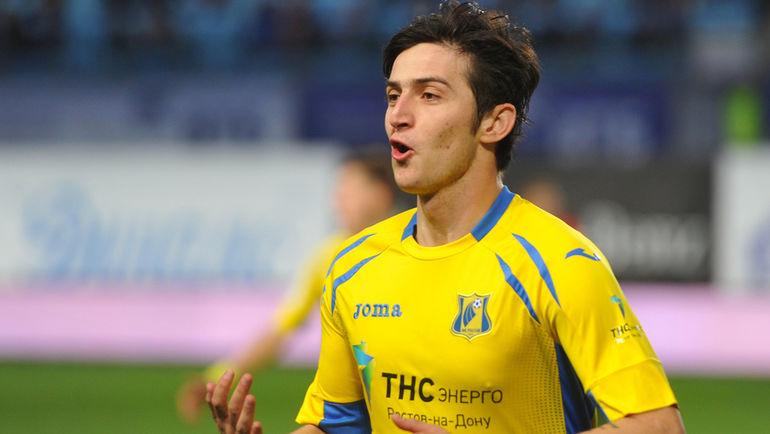 Футболист «Ростова» Азмун останется вклубе доконца сезона